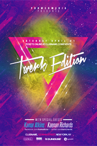 Colourful Party Promotional Flyer Template - 8