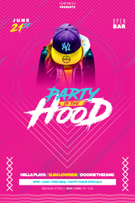 Colourful Party Promotional Flyer Template - 16