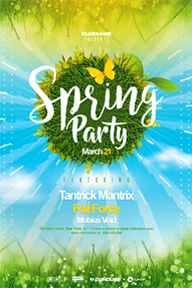 Colourful Party Promotional Flyer Template - 36