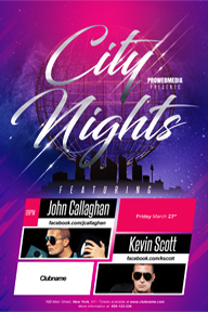 Colourful Party Promotional Flyer Template - 63