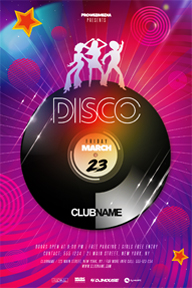 Colourful Party Promotional Flyer Template - 68