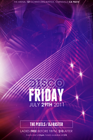 Colourful Party Promotional Flyer Template - 159