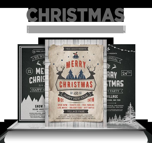 Merry Christmas Poster / Flyer V16 - 1